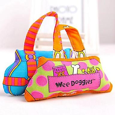 Жевательные игрушки для кошек Жевательные игрушки для собак Мультипликация текстильный Назначение Собака Щенок