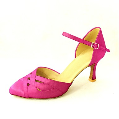 dans ayakkabıları saten, modern özelleştirilebilir bayanlar yüksek topuklu (daha fazla renk)
