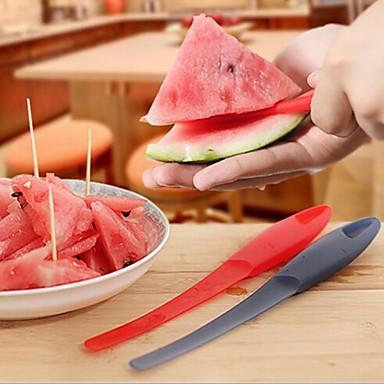 multifunkcionális görögdinnye peeling gép, műanyag 23,5 × 3 × 1,5 cm (9,3 × 1,2 × 0,6 inch) random színű