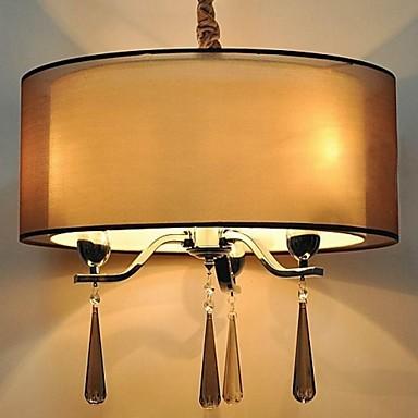 Modern/Contemporary Crystal Chandelier Uplight For Bedroom Dining Room Study Room/Office Hallway 110-120V 220-240V Bulb Not Included