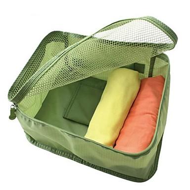 30 L Travel Organizer Seyahat Dış Mekan Kompakt Yeşil / Pembe / Koyu Mavi / Açık Mavi Oxford