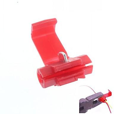 Hızlı bağlantı telli bağlayıcı demeti tutma klipsi / tutucusu (40pcs)