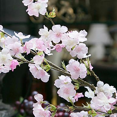 Artificial Flowers 4 Branch Wedding Flowers Sakura Tabletop Flower