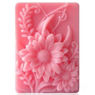 solsikke formet  kake sjokolade silikon Form kake dekorasjon verktøy, l9.2cm * b6.8cm * h3cm