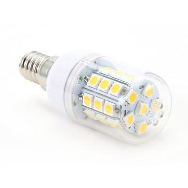 4W 300-350lm E14 LED Mısır Işıklar T 30 LED Boncuklar SMD 5050 Sıcak Beyaz 220-240V