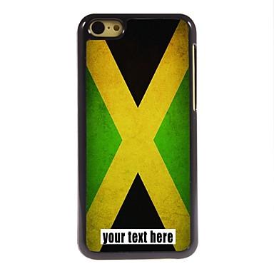 персонализированные случае Флаг Ямайки дизайн металлического корпуса для iPhone 5с