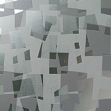Art Deco Klasyczna Pencere Filmi, PVC/winyl Malzeme pencere Dekorasyonu Yatakodası Oturma Odası Dükkanı / Kafe