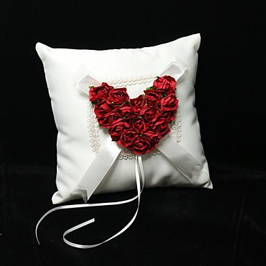 Material / Satin Perlenstickerei / Print / Blumig Baumwolle Klassisch / Urlaub / Hochzeit Frühjahr, Herbst, Winter, Sommer / Ganzjährig