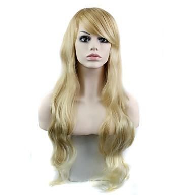 Жен. Парики из искусственных волос Классика Волнистый Высокое качество Парики к костюмам Классика Волнистый Высокое качество Повседневные