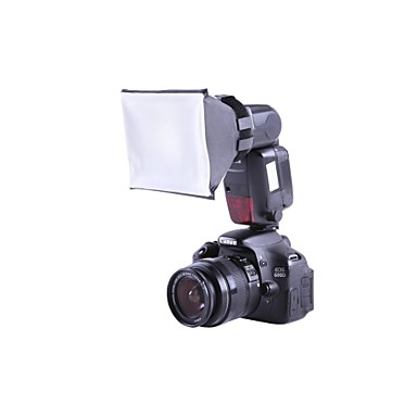 Universal Mini Studio Soft Box Flash Diffuser XTSBFD for Canon Nikon SB-800/900 Sony Olympus External Flash Units