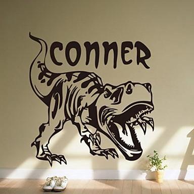 Dekoratif Duvar Çıkartmaları - Hayvan Duvar Çıkartmaları Hayvanlar / Natürmort / Moda Oturma Odası / Yatakodası / Çalışma Odası / Ofis