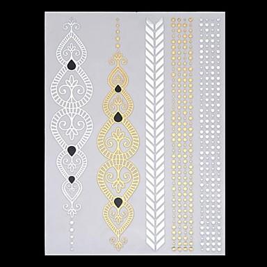 Amichevole 6 Pcs Tatuaggi Temporanei Hawaiano - Tribale Carta Tatuaggi Adesivi - Fantasia - Hawaiian - Fascia Lombare #02858339