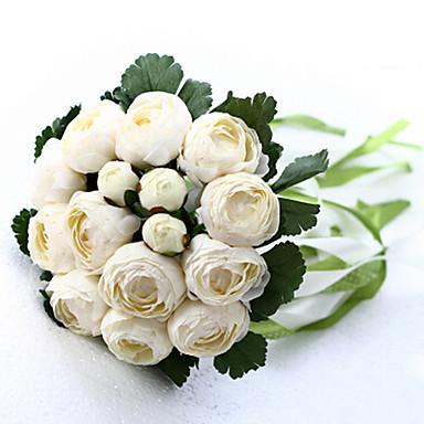 Une succursale Soie Roses Fleur de Table Fleurs artificielles 20 x 20 x 25(7.87'' x 7.87'' x 9.84'')
