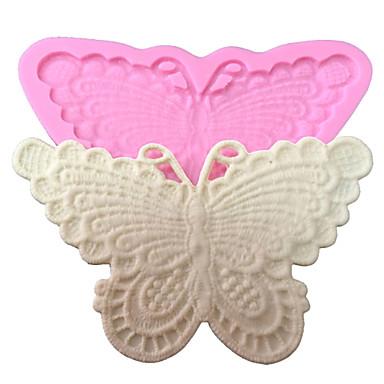 taart decoreren schimmel vlinder siliconen kant mal voor fondant snoep ambachten sieraden chocolade pmc hars klei