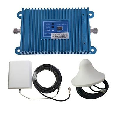 intelligencia kétsávos GSM / DCS 900 / 1800MHz mobiltelefon jelerősítő erősítő + kültéri panel antenna készlet