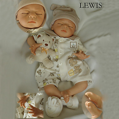 Lebensechte Puppe Baby 22 Zoll Silikon / Vinyl - lebensecht Mädchen Kinder Geschenk