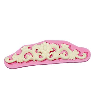 csipke cukorpaszta öntőforma torta dekoráció