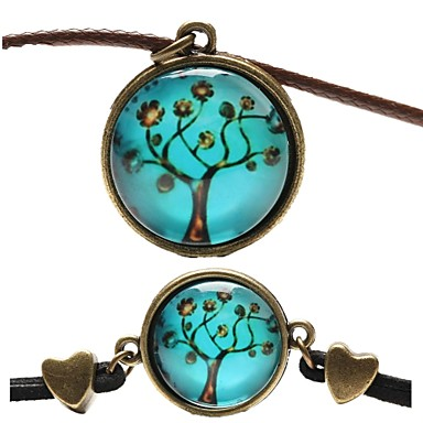 Women's Jewelry Set - Leather Include Blue For Party / Daily / Casual / Necklace / Bracelets & Bangles