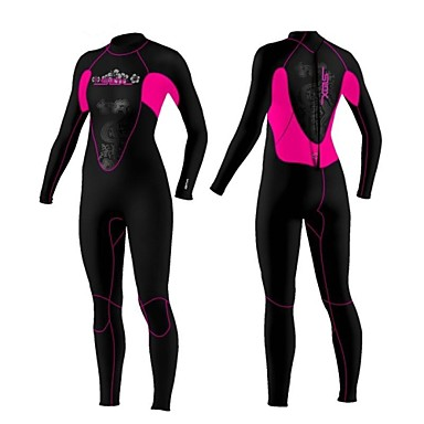 Slinx 1102 3MM Warm Neoprene Scuba Diving Surf Spearfishing Triathlon Wet Suits For Women One Piece Full Body Suits