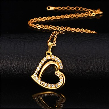 Women's Unisex Synthetic Diamond Rhinestone Imitation Diamond - Vintage Cute Party Work Casual Love Fashion Necklace For Special