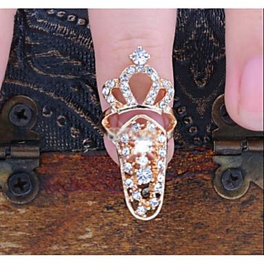 Свадьба - Стразы для ногтей/Блеск - 1PCS - 1*0.8*0.6 - Металл - Пальцы рук