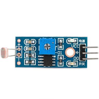 1-Wege-Fotowiderstand-Sensor-Modul für Arduino (funktioniert mit offiziellen Arduino-Boards)