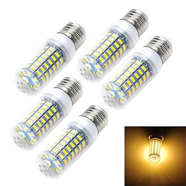 3.5 E14 E26/E27 LED Corn Lights T 69 SMD 5730 350-400lm Warm White Cold White 3000/6500K AC 220-240V