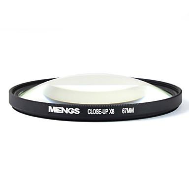 mengs® 67 χιλιοστά close-up φίλτρο x8 με πλαίσιο αλουμινίου για Canon Nikon Sony FUJIFILM Ολύμπου και PENTAX
