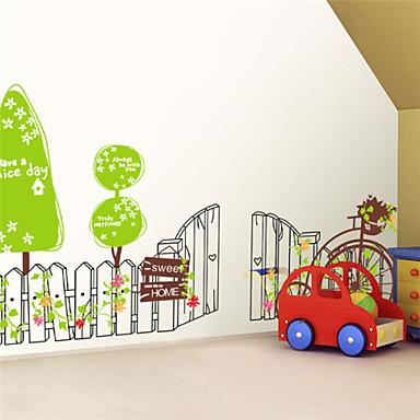 Landschaft Stillleben Architektur Botanisch Wand-Sticker Flugzeug-Wand Sticker Dekorative Wand Sticker, Vinyl Haus Dekoration Wandtattoo