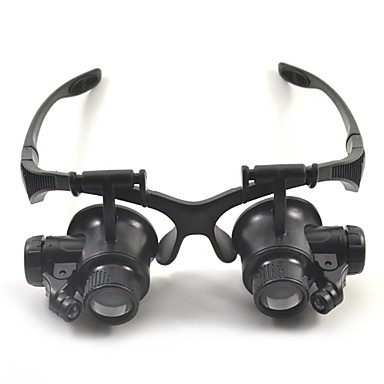 Magnifiers / Magnifier Glasses High Definition LED Headset / Eyewear 10/15/20/25 15 mm Plastic