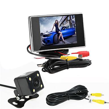 voordelige Automatisch Electronica-renepai® 3,5 inch monitor + 170 ° hd auto achteruitrijcamera + high-definition groothoek waterdicht CMOS-camera