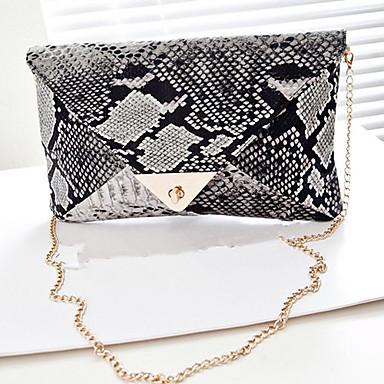 Women Bags PU Clutch Evening Bag for Casual All Seasons Screen Color