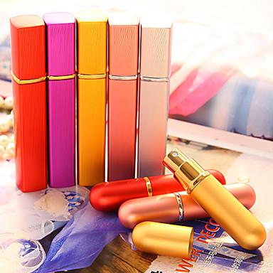 Kosmetikk- oppbevaring Kosmetikkflasker Plast Ensfarget Kvadrant Sminke kosmetisk Pleieutstyr