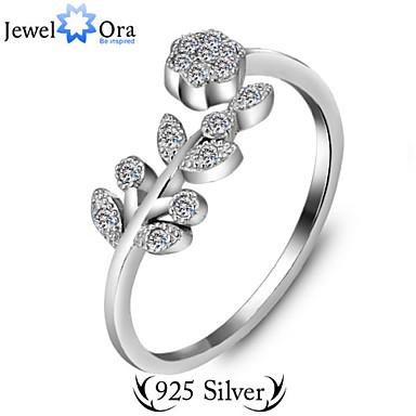 billige Motering-Justerbar ring tommelfingerring Sølv Sølv Vintage Fest Kontor Smykker Søtt