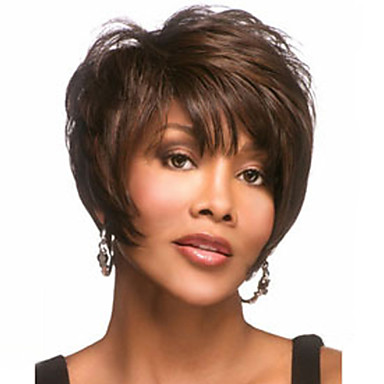 Synthetic Wig Synthetic Hair Brown Wig Women's Short