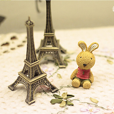 10 cm Eiffel Tower Alloy Desktop Furnishing Article