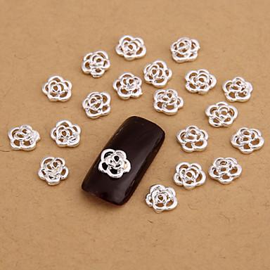 10 - 11*7.5*1.5 - Κινούμενα σχέδια/Λουλούδι/Αφηρημένο/Lovely/Πανκ/Γάμος - Κοσμήματα Νυχιών/Άλλα Διακοσμητικά - για Δάχτυλο/Δάκτυλο Ποδιού