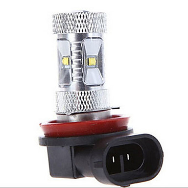 30W H11 Dekoratif Işıklar 6LED Yüksek Güçlü LED 1200 lm Serin Beyaz DC 12 / DC 24 V 1 parça