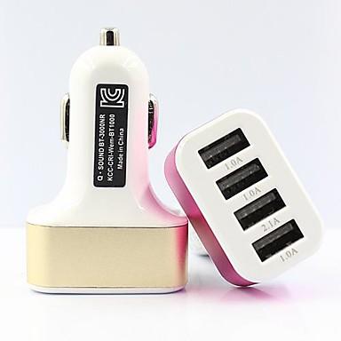 Autós töltő USB töltő Multi port 4 USB port 2.1 A / 1 A DC 12V-24V