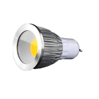 7W GU10 Spot LED MR16 1 COB 600 lm Blanc Chaud / Blanc Froid / Blanc Naturel Gradable AC 100-240 V 1 pièce