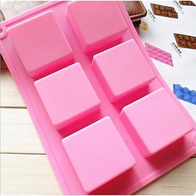 Mode-Silikon-Seifen Eis Modellierung Kuchenform Küche Backformen Kuchen Schokolade Dekoration Kochen Werkzeuge (gelegentliche Farbe)