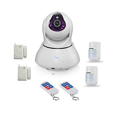 snov® hd wifi ip kamera riasztó támogatást éjjellátó és andriod & ios app sv-vpc2ek4