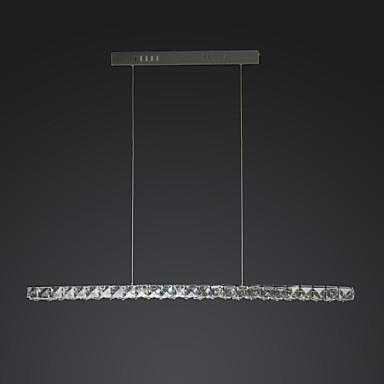 UMEI™ Pendelleuchten Moonlight Chrom Metall Kristall, LED 90-240V Weiß LED-Lichtquelle enthalten / integrierte LED