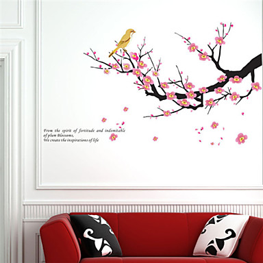 Landscape Shapes Florals Botanical Wall Stickers Plane Wall Stickers Decorative Wall Stickers,Vinyl Home Decoration Wall Decal Wall