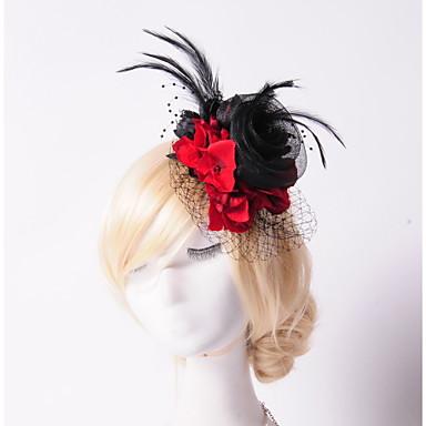 Tül Kristal Tüy Kumaş Net - Tiaras Çiçekler Çelenkler 1 Düğün Özel Anlar Parti / Gece Dış mekan Başlık
