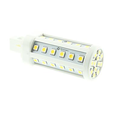 SENCART 8W 3000-3500/6000-6500 lm G24 LED Mais-Birnen T 48 Leds SMD 5060 Dekorativ Warmes Weiß Kühles Weiß Wechselstrom 85-265V