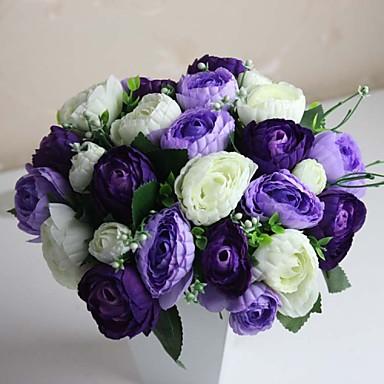 Wedding Flowers Bouquets Wedding Polyester 5.91