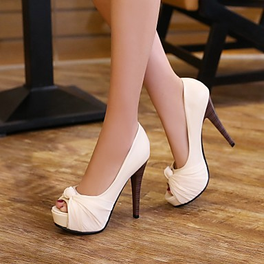 Printemps Pour Habillé Rose Eté Femme Chaussures Noir Beige Aiguille Similicuir Automne Talon 03036316 Rouge gxnHFEFCwq