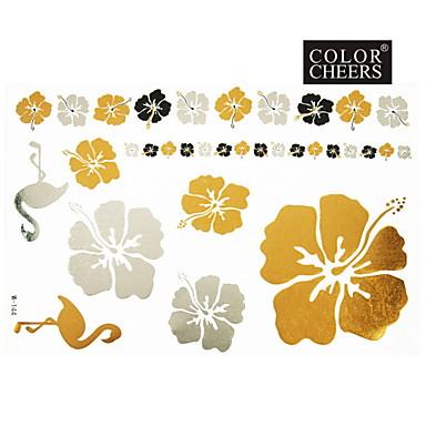 #(1) Model Serie de Flori Acțibilde de Tatuaj