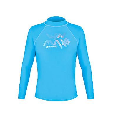 Męskie Tričko na turistiku Na wolnym powietrzu Zima Wodoodporny Keep Warm Quick Dry Ultraviolet Resistant Izolacja Oddychający Lekkie